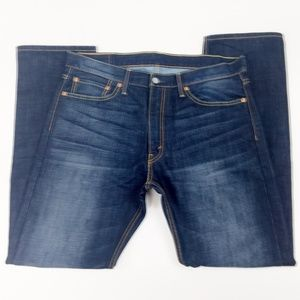 Levis 513 Jeans Size 36×32 Slim Fit Straight Leg